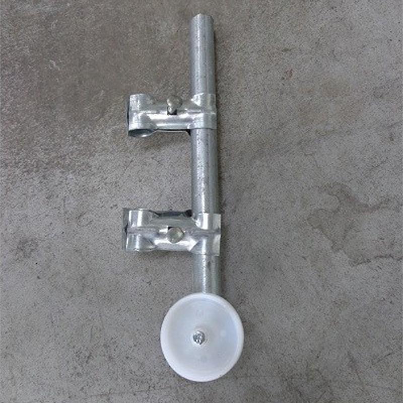 Roulette pour portail de chantier