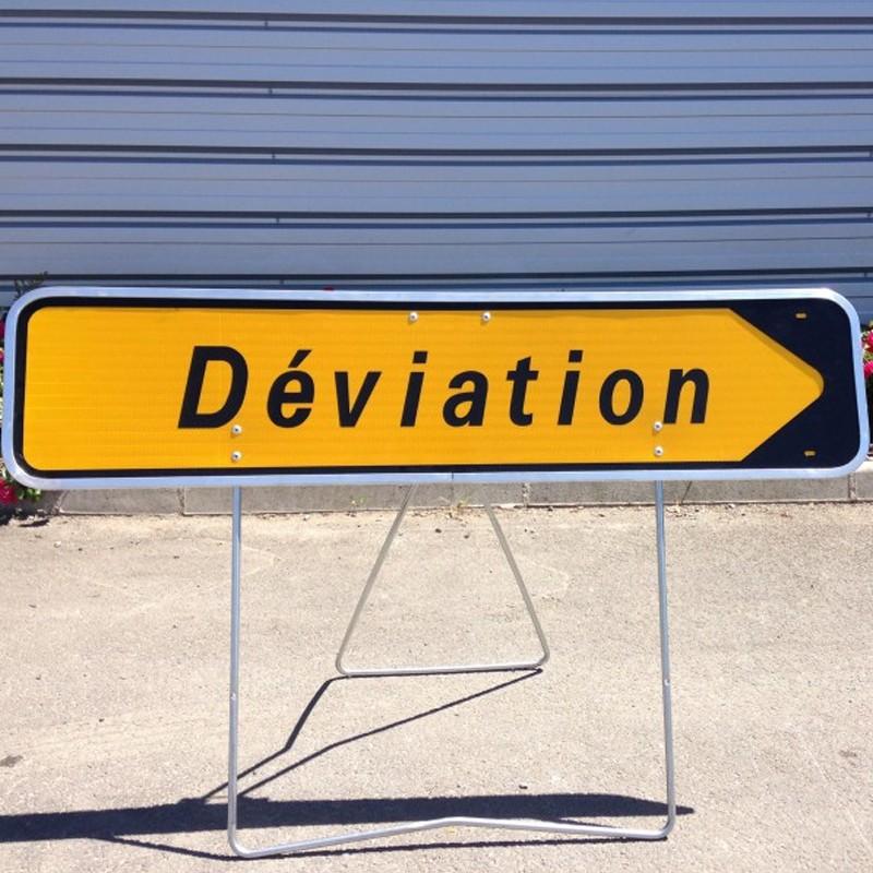 panneau déviation panneau kd22