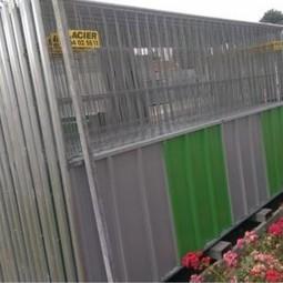 barrière de chantier mixte BA VDP 3500 x 2000
