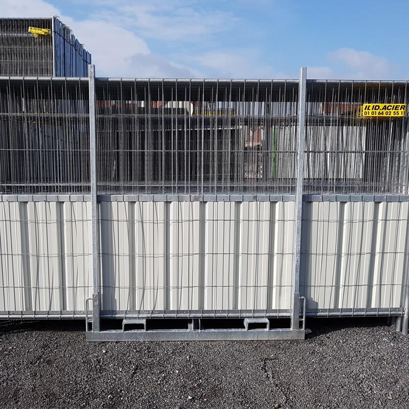 Rack de sécurité avec barrières mixtes