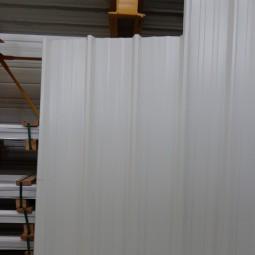 Tôle bac acier stockée chez ID Acier