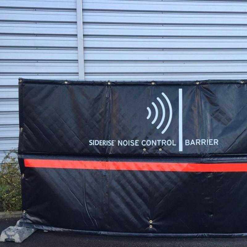 bâche acoustique pour barrière de chantier
