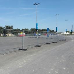 Barrière grillagée anti vandalisme ID Acier