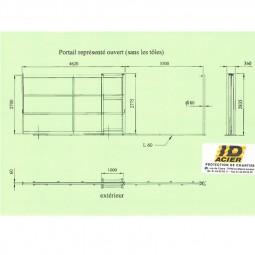 portail de chantier sur mesure