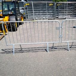 Barrière de police 2 x 1.10 m