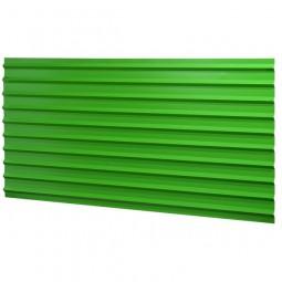 Tôle anti-affiche verte