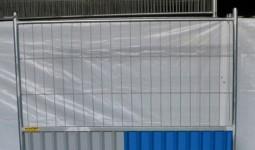 Clôture mixte / Semi-Opaque